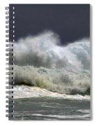 Churning Breaker Spiral Notebook