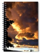 Churning Clouds 2 Spiral Notebook