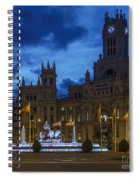 Cibeles Fountain Madrid Spain Spiral Notebook