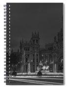 Cibeles Square Madrid Spain Spiral Notebook