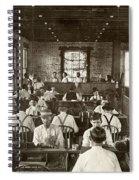Cigar Factory, 1909 Spiral Notebook