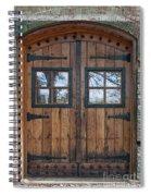 Cigar Warehouse Doors Spiral Notebook