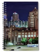 Cinci From The Opposite Side Spiral Notebook