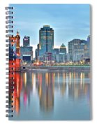 Cincinnati At Ground Level Spiral Notebook