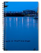 Cincinnati Belle Suspension Bridge Spiral Notebook