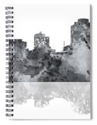 Cincinnati Ohio Skyline Spiral Notebook