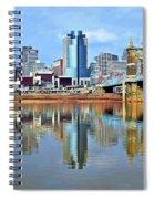 Cincinnati Ohio Times Two Spiral Notebook