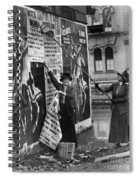 Cincinnati: Suffragettes Spiral Notebook