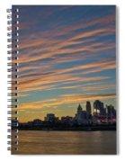 Cincinnati Sunset Spiral Notebook