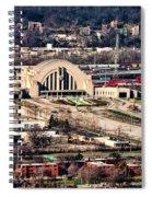 Cincinnati Union Terminal Spiral Notebook