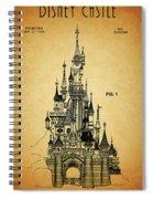 Cinderella Castle Patent Spiral Notebook