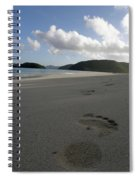 Cinnamon Toes In The Sand Spiral Notebook