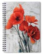 Cinque Papaveri Spiral Notebook