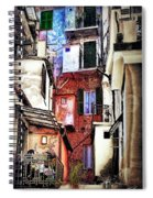 Cinque Terre All'aperto Spiral Notebook