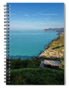 Cinque Terre Panorama Spiral Notebook