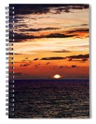 Cinque Terre - Sunset From Manarola - Panorama Spiral Notebook