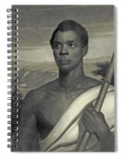 Cinque, The Chief Of The Amistad Captives Spiral Notebook