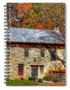 Circa 1776 Stone House Spiral Notebook