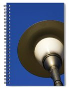 Circle And Blues Spiral Notebook