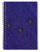 Circle Flowers Spiral Notebook