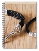 Circle Hook Bracelet Spiral Notebook