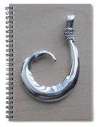 Circle Hook Pendant Spiral Notebook