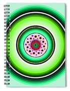 Circle Motif 229 Spiral Notebook