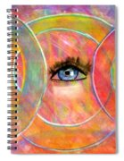 Circle Of Eyes Spiral Notebook