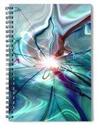 Circle Of Light Spiral Notebook