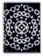 Circle Of Stars And Flowers Spiral Notebook