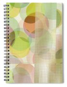 Circle Pattern Overlay II Spiral Notebook