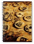 Circle Sails Spiral Notebook