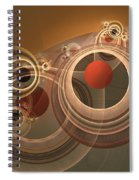 Circles And Rings Spiral Notebook