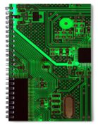 Circuitry Spiral Notebook