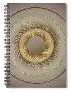 Circular Abastract Art 5 Spiral Notebook
