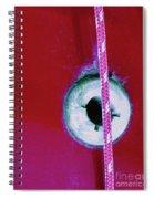 Circular Rojo Spiral Notebook