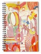 Circus Spiral Notebook