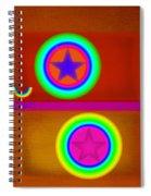 Circus Balls Spiral Notebook