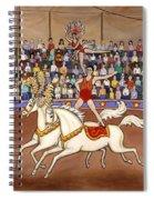 Circus Bareback Riders Spiral Notebook