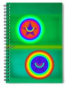 Circus Costume Spiral Notebook