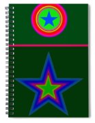 Circus Green Spiral Notebook