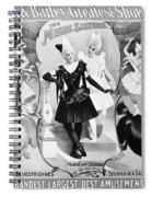 Circus Poster, 1895 Spiral Notebook