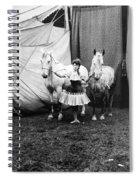 Circus: Rider, C1904 Spiral Notebook