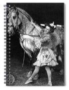 Circus: Rider, C1908 Spiral Notebook