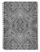 Circus Stripes Spiral Notebook
