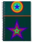 Circus Vert Spiral Notebook