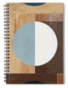 Cirkel Trio- Art By Linda Woods Spiral Notebook