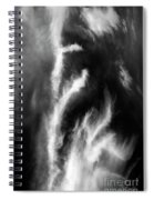 Cirrus Clouds Nature Patterns Spiral Notebook