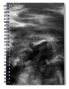 Cirrus Clouds With Nature Patterns  Spiral Notebook