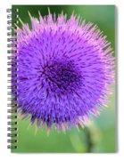 Cirsium Spiral Notebook